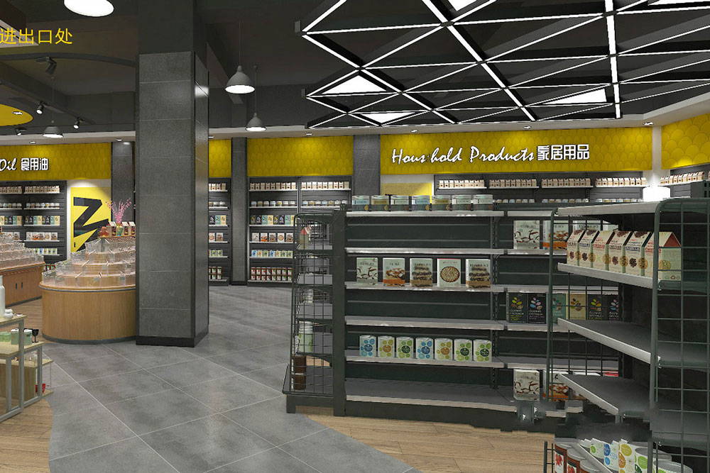 超市进出口案例