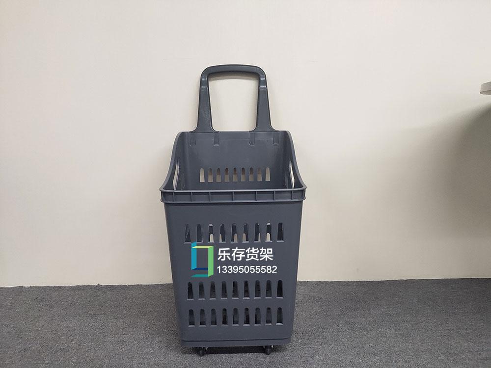 超市购物小拉篮 ,超市手拉篮,超市购物篮,拉篮带轮购物车加厚手提篮,塑料篮两用购物筐厂家