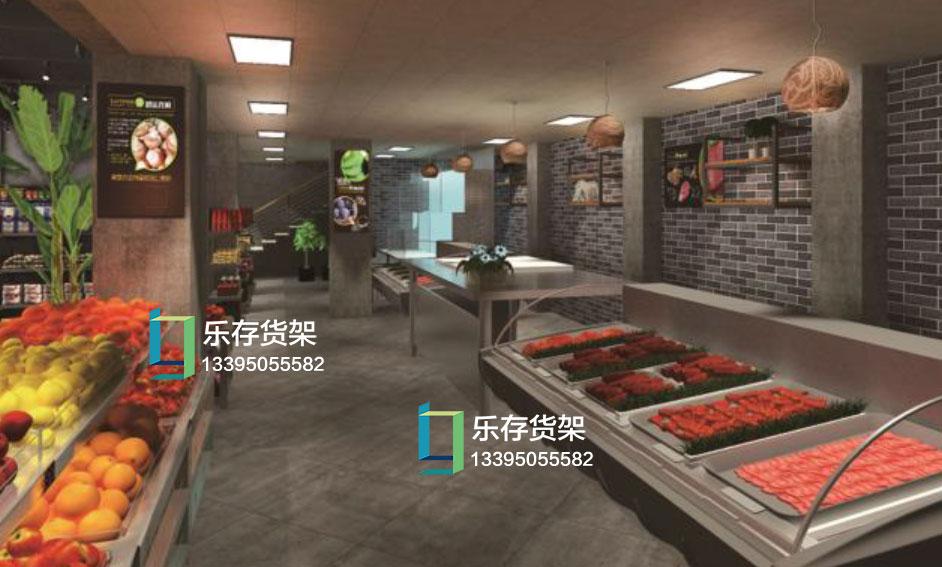 想开一家生鲜超市,需要购买哪些生鲜超市货架产品?